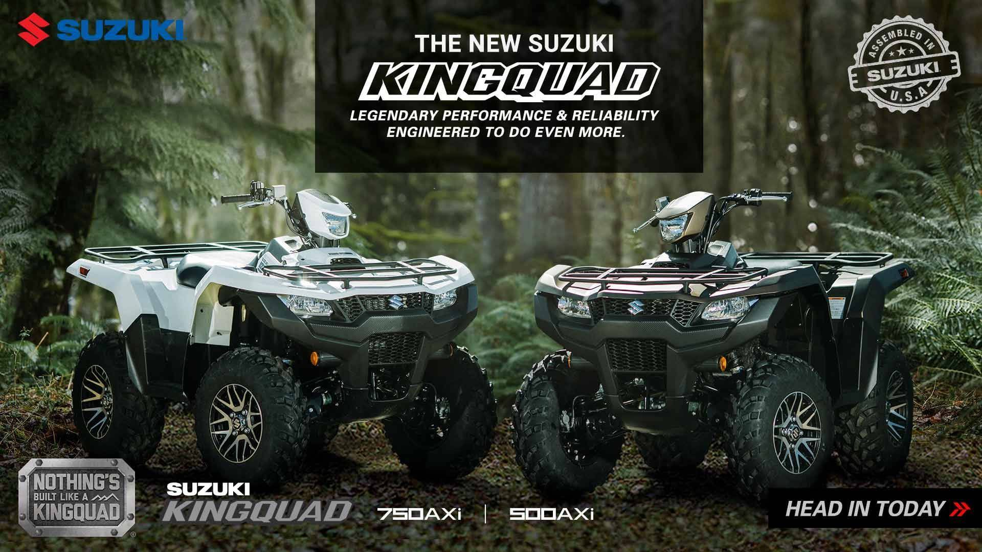 Suzuki - Summer Suzuki Fest for Utility Sport and Sport ATV